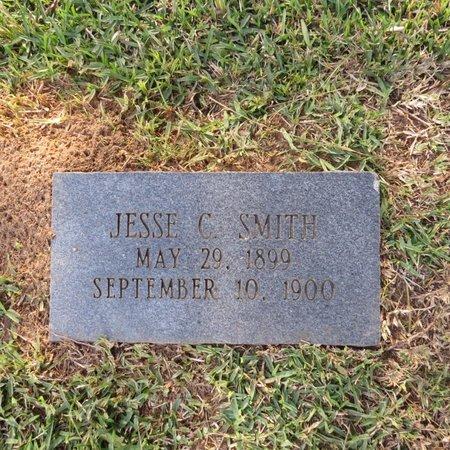 SMITH, JESSE C (CLOSE UP) - Grant County, Louisiana   JESSE C (CLOSE UP) SMITH - Louisiana Gravestone Photos