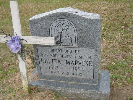 SMITH, RHETTA MARVESE - Grant County, Louisiana | RHETTA MARVESE SMITH - Louisiana Gravestone Photos