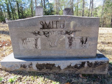 SMITH, EMELINE E - Grant County, Louisiana | EMELINE E SMITH - Louisiana Gravestone Photos