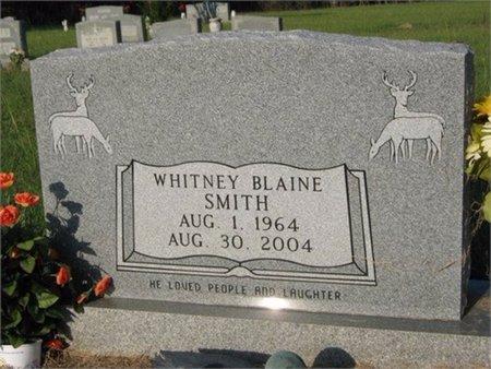 SMITH, WHITNEY BLAINE - Grant County, Louisiana | WHITNEY BLAINE SMITH - Louisiana Gravestone Photos