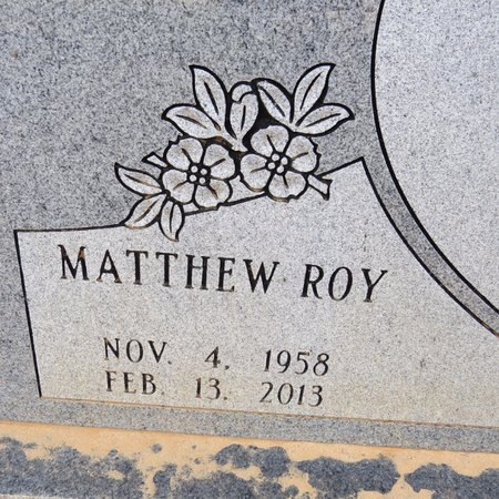 SOBER, MATTHEW ROY (CLOSE UP) - Grant County, Louisiana | MATTHEW ROY (CLOSE UP) SOBER - Louisiana Gravestone Photos