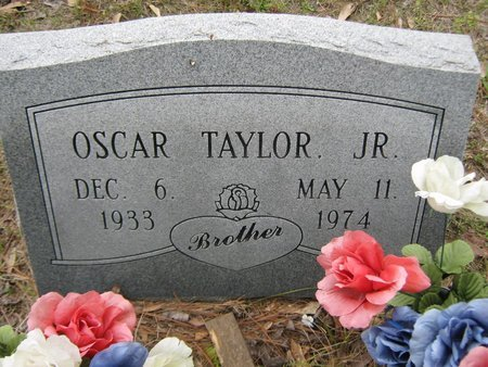 TAYLOR, OSCAR JR - Grant County, Louisiana   OSCAR JR TAYLOR - Louisiana Gravestone Photos