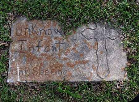 UNKNOWN, INFANT #1 - Grant County, Louisiana | INFANT #1 UNKNOWN - Louisiana Gravestone Photos