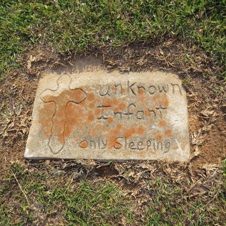 UNKNOWN, INFANT #2 - Grant County, Louisiana | INFANT #2 UNKNOWN - Louisiana Gravestone Photos