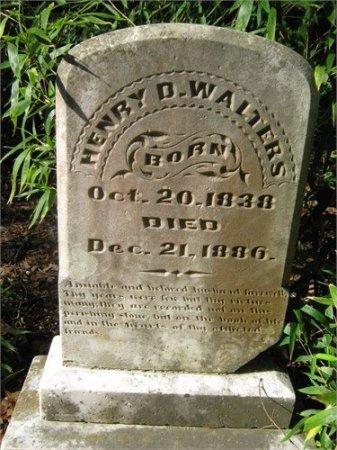 WALTERS, HENRY DAWSON (VETERAN CSA) - Grant County, Louisiana   HENRY DAWSON (VETERAN CSA) WALTERS - Louisiana Gravestone Photos