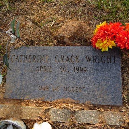 WRIGHT, CATHERINE GRACE - Grant County, Louisiana   CATHERINE GRACE WRIGHT - Louisiana Gravestone Photos