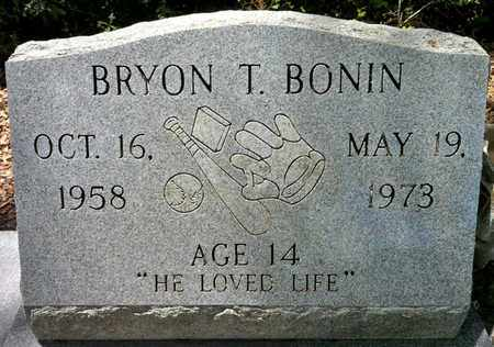 BONIN, BYRON T - Iberia County, Louisiana | BYRON T BONIN - Louisiana Gravestone Photos