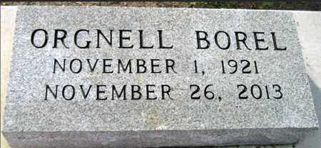BOREL, ORGNELL - Iberia County, Louisiana | ORGNELL BOREL - Louisiana Gravestone Photos