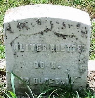 BOUTTE  , OLIVER  (VETERAN UNION) - Iberia County, Louisiana   OLIVER  (VETERAN UNION) BOUTTE   - Louisiana Gravestone Photos