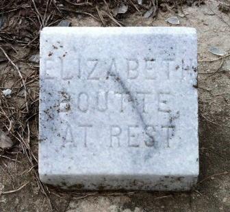 BOUTTE, ELIZABETH - Iberia County, Louisiana | ELIZABETH BOUTTE - Louisiana Gravestone Photos