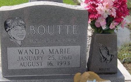 BOUTTE, WANDA MARIE - Iberia County, Louisiana | WANDA MARIE BOUTTE - Louisiana Gravestone Photos
