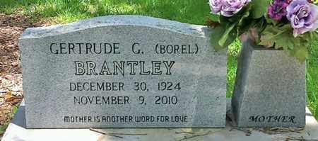 BOREL BRANTLEY, GERTRUDE G - Iberia County, Louisiana   GERTRUDE G BOREL BRANTLEY - Louisiana Gravestone Photos