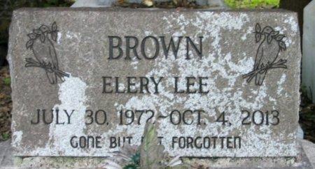 BROWN, ELERY LEE - Iberia County, Louisiana | ELERY LEE BROWN - Louisiana Gravestone Photos