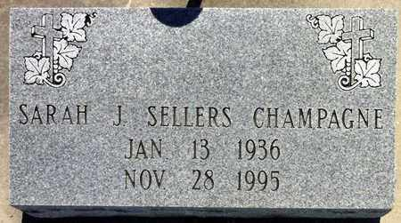 SELLERS CHAMPAGNE, SARAH JOSEPHINE - Iberia County, Louisiana   SARAH JOSEPHINE SELLERS CHAMPAGNE - Louisiana Gravestone Photos