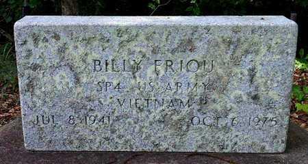FRIOU, BILLY  (VETERAN VIET) - Iberia County, Louisiana | BILLY  (VETERAN VIET) FRIOU - Louisiana Gravestone Photos