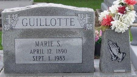 GUILLOTTE, MARIE S - Iberia County, Louisiana | MARIE S GUILLOTTE - Louisiana Gravestone Photos