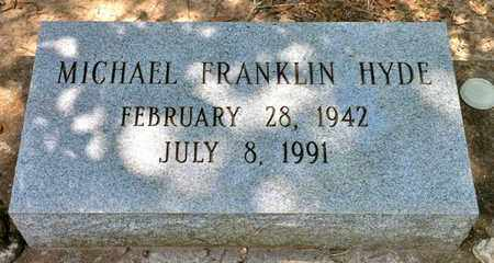 HYDE, MICHAEL FRANKLIN - Iberia County, Louisiana | MICHAEL FRANKLIN HYDE - Louisiana Gravestone Photos