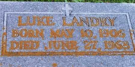 LANDRY, LUKE - Iberia County, Louisiana | LUKE LANDRY - Louisiana Gravestone Photos