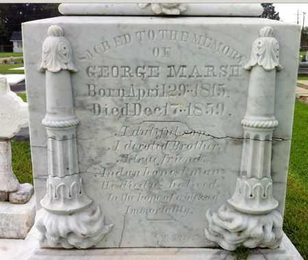 MARSH, GEORGE - Iberia County, Louisiana | GEORGE MARSH - Louisiana Gravestone Photos