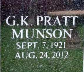 MUNSON, GEORGE KING PRATT  (VETERAN WWII) - Iberia County, Louisiana | GEORGE KING PRATT  (VETERAN WWII) MUNSON - Louisiana Gravestone Photos