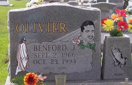 OLIVIER, BENFORD JAMES - Iberia County, Louisiana | BENFORD JAMES OLIVIER - Louisiana Gravestone Photos