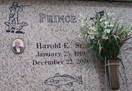 PRINCE, HAROLD EUGENE, SR - Iberia County, Louisiana | HAROLD EUGENE, SR PRINCE - Louisiana Gravestone Photos