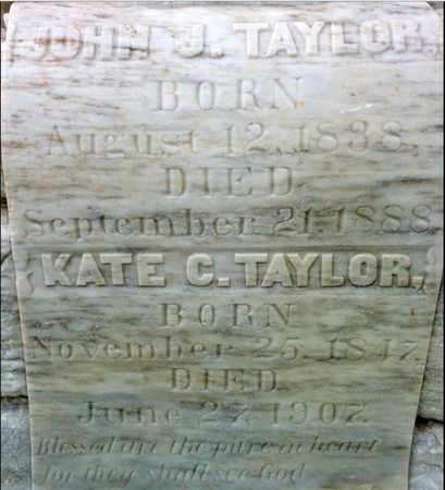 TAYLOR, KATE CELESTINE - Iberia County, Louisiana | KATE CELESTINE TAYLOR - Louisiana Gravestone Photos