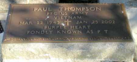 "THOMPSON, PAUL ""P T"" (VETERAN VIET) - Iberia County, Louisiana | PAUL ""P T"" (VETERAN VIET) THOMPSON - Louisiana Gravestone Photos"