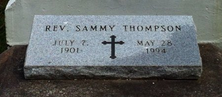 THOMPSON, SAMMY, REV - Iberia County, Louisiana | SAMMY, REV THOMPSON - Louisiana Gravestone Photos