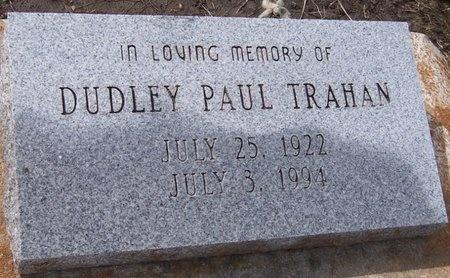 TRAHAN, DUDLEY PAUL - Iberia County, Louisiana | DUDLEY PAUL TRAHAN - Louisiana Gravestone Photos