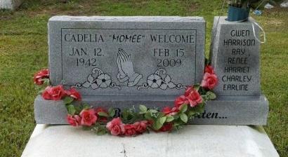 WELCOME, CADELIA RITA - Iberia County, Louisiana   CADELIA RITA WELCOME - Louisiana Gravestone Photos