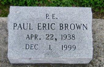 "BROWN, PAUL ERIC  ""P E"" - Iberville County, Louisiana | PAUL ERIC  ""P E"" BROWN - Louisiana Gravestone Photos"
