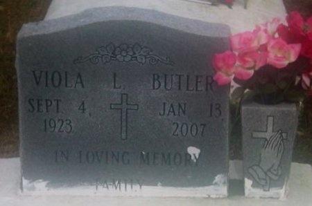 BUTLER, VIOLA - Iberville County, Louisiana   VIOLA BUTLER - Louisiana Gravestone Photos
