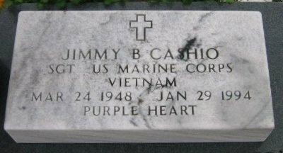 CASHIO, JIMMY B  (VETERAN VIET) - Iberville County, Louisiana | JIMMY B  (VETERAN VIET) CASHIO - Louisiana Gravestone Photos
