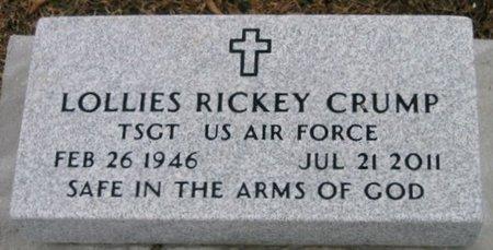 CRUMP, LOLLIES RICKEY  (VETERAN) - Iberville County, Louisiana | LOLLIES RICKEY  (VETERAN) CRUMP - Louisiana Gravestone Photos
