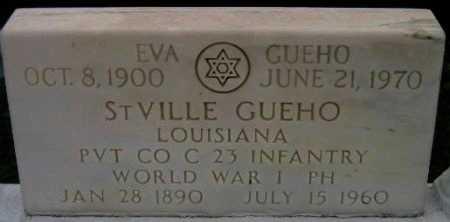 GUEHO, EVA - Iberville County, Louisiana   EVA GUEHO - Louisiana Gravestone Photos