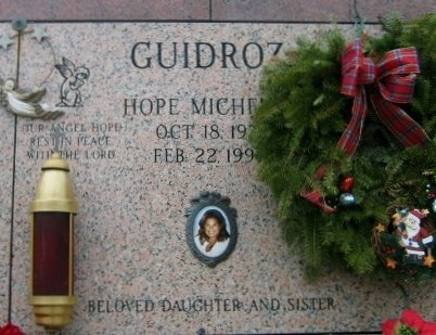 GUIDROZ, HOPE MICHELLE - Iberville County, Louisiana   HOPE MICHELLE GUIDROZ - Louisiana Gravestone Photos