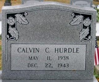 HURDLE, CALVIN D - Iberville County, Louisiana | CALVIN D HURDLE - Louisiana Gravestone Photos