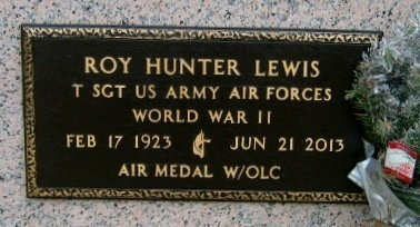 LEWIS, ROY HUNTER  (VETERAN WWII) - Iberville County, Louisiana   ROY HUNTER  (VETERAN WWII) LEWIS - Louisiana Gravestone Photos