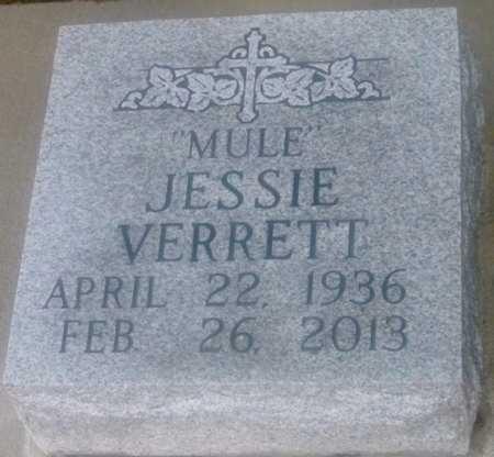 "VERRETT, JESSIE  ""MULE"" - Iberville County, Louisiana | JESSIE  ""MULE"" VERRETT - Louisiana Gravestone Photos"