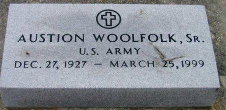 WOOLFOLK, AUSTION, SR  (VETERAN) - Iberville County, Louisiana   AUSTION, SR  (VETERAN) WOOLFOLK - Louisiana Gravestone Photos