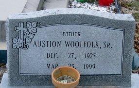 WOOLFOLK, AUSTION, SR - Iberville County, Louisiana | AUSTION, SR WOOLFOLK - Louisiana Gravestone Photos