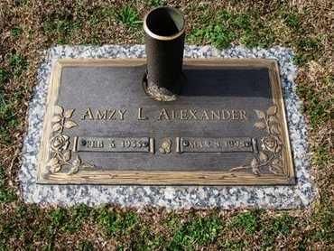 ALEXANDER, AMZY L - Jackson County, Louisiana   AMZY L ALEXANDER - Louisiana Gravestone Photos