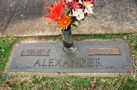 ALEXANDER, JAMES MARTIN - Jackson County, Louisiana | JAMES MARTIN ALEXANDER - Louisiana Gravestone Photos