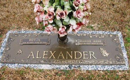 ALEXANDER, ROY A - Jackson County, Louisiana   ROY A ALEXANDER - Louisiana Gravestone Photos