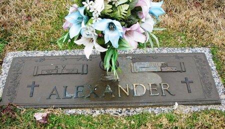 ALEXANDER, R V - Jackson County, Louisiana | R V ALEXANDER - Louisiana Gravestone Photos