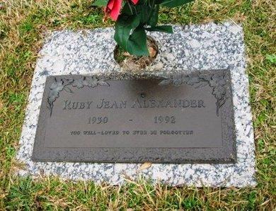 ALEXANDER, RUBY JEAN - Jackson County, Louisiana   RUBY JEAN ALEXANDER - Louisiana Gravestone Photos
