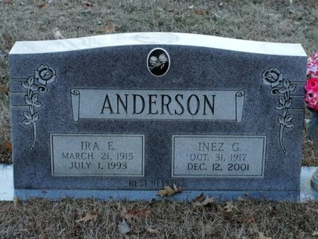ANDERSON, WILLIE INEZ - Jackson County, Louisiana | WILLIE INEZ ANDERSON - Louisiana Gravestone Photos