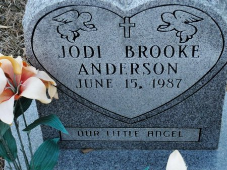 ANDERSON, JODI BROOKE - Jackson County, Louisiana | JODI BROOKE ANDERSON - Louisiana Gravestone Photos