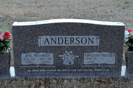 ANDERSON, JOE WAYMON - Jackson County, Louisiana | JOE WAYMON ANDERSON - Louisiana Gravestone Photos